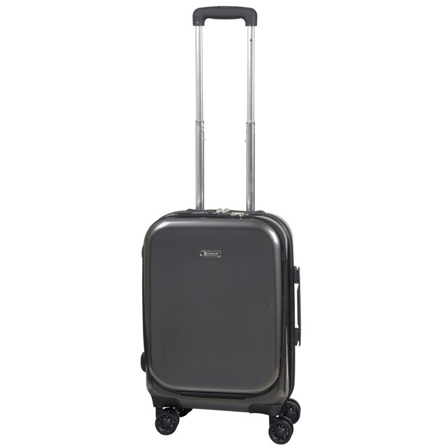 Business-Trolley-Boardcase FRANKFURT 3.0 carbon black 56-2202515