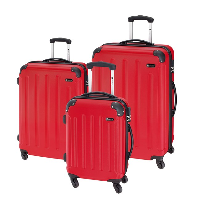 Trolley-Set KAPSTADT red 56-2210311