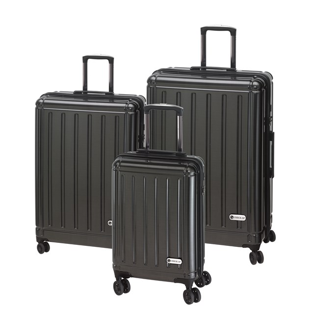 Trolley-Set HALIFAX carbon black 56-2210407