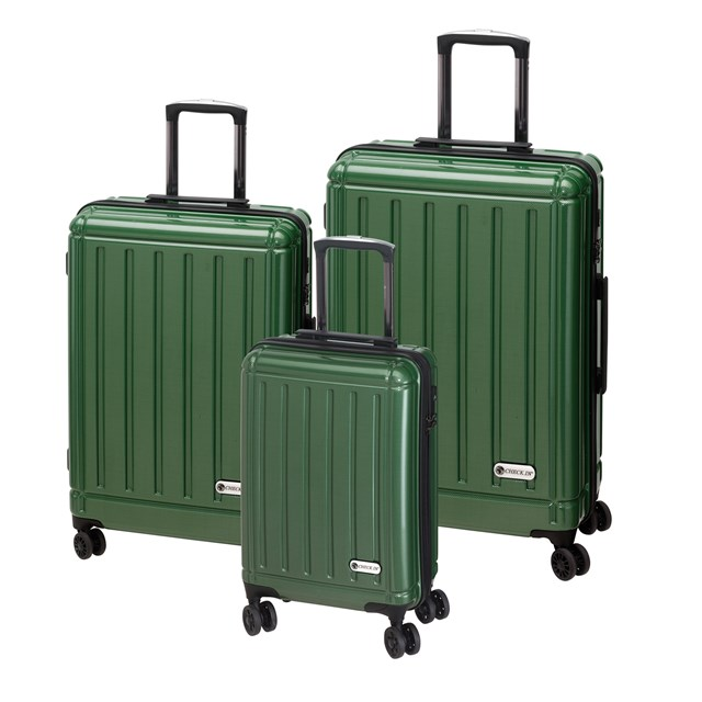 Trolley-Set HALIFAX carbon green 56-2210408