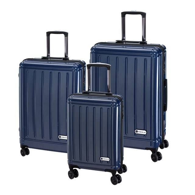 Trolley-Set HALIFAX carbon blue 56-2210410