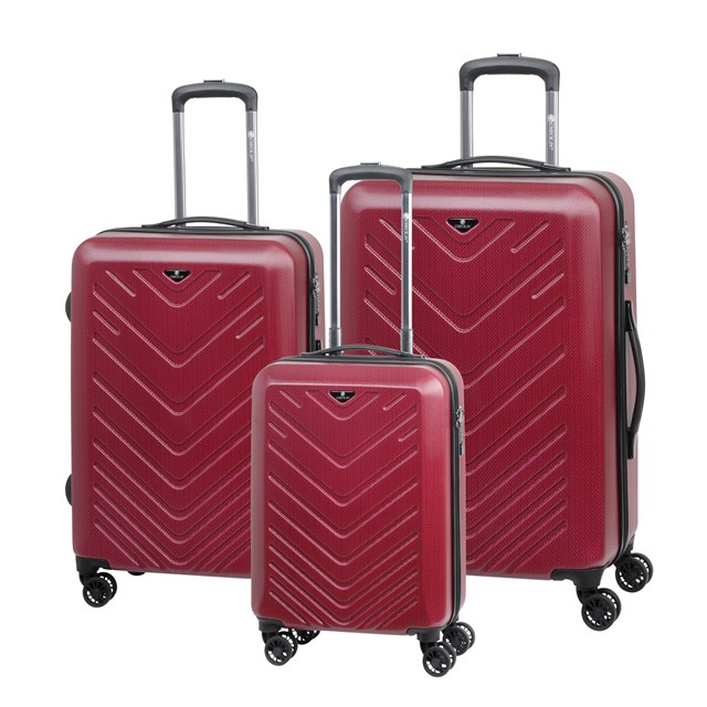 Trolley-Set MAILAND red 56-2210428