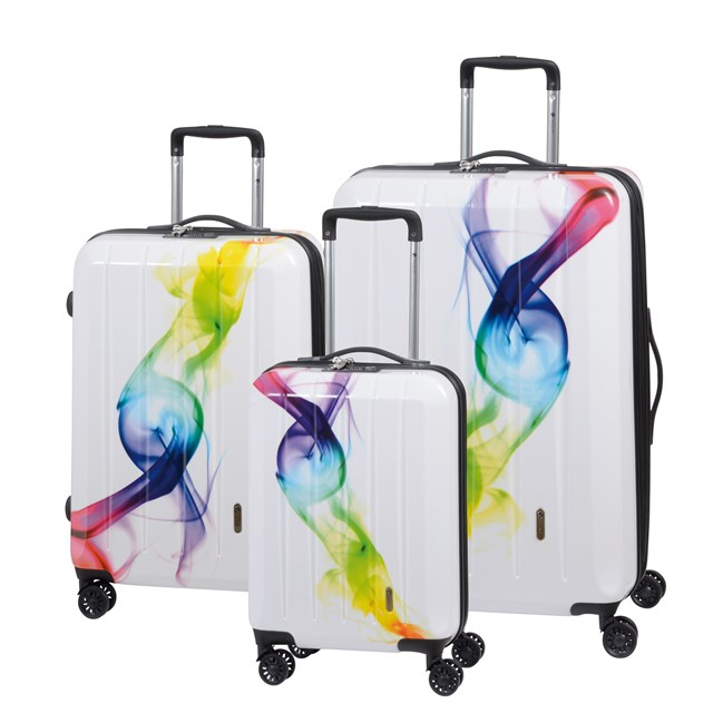Trolley-Set LONDON WAVE coloured / white 56-2210524