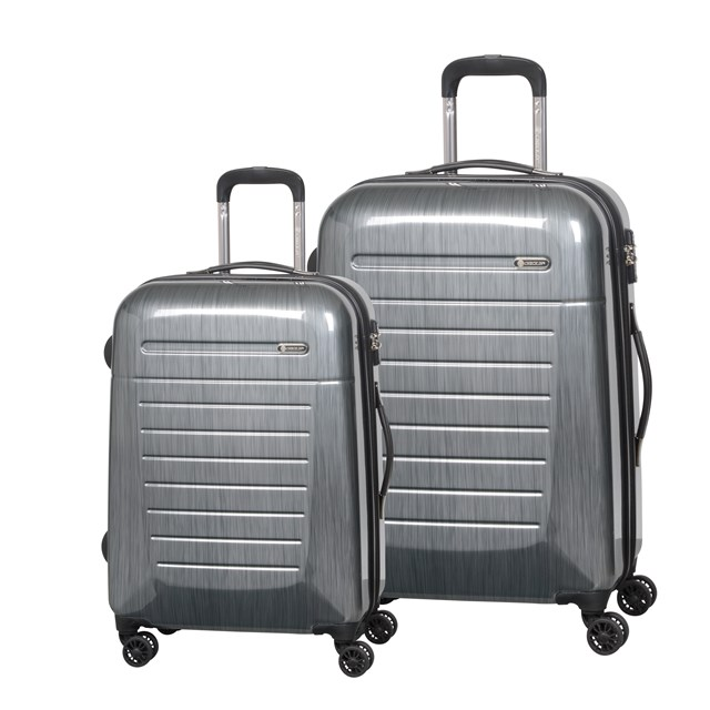 Trolley-Set TORONTO 2.0 silver brushed 56-2210592