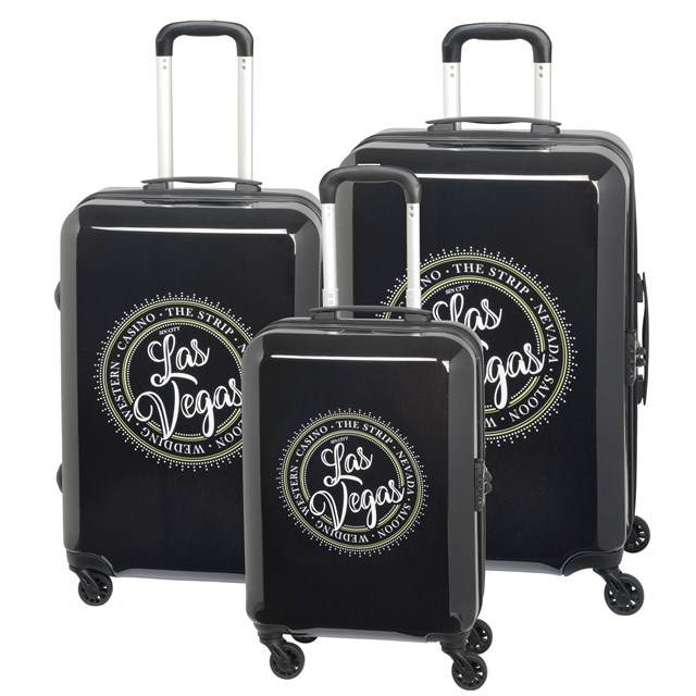 Trolley-Set AMERICANA Las Vegas / black 56-2210600