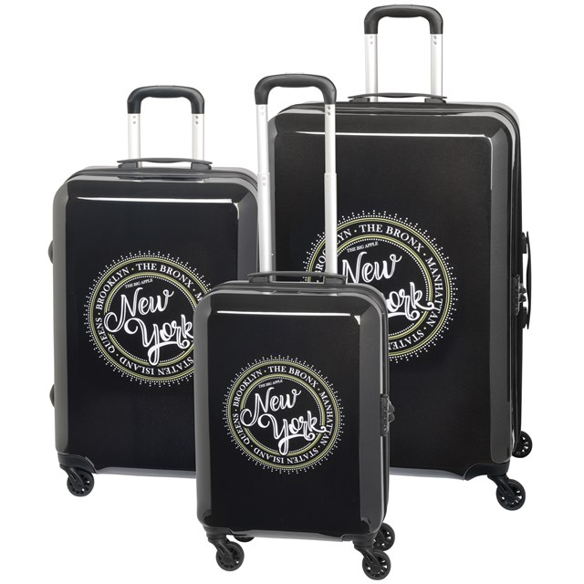 Trolley-Set AMERICANA New York / black 56-2210601