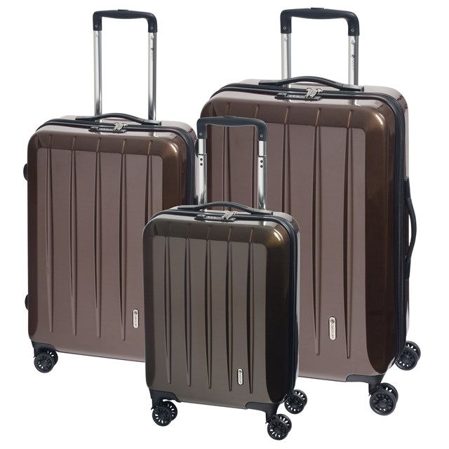 Trolley-Set LONDON 2.0 carbon champagne 56-2210672