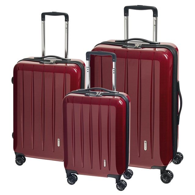 Trolley-Set LONDON 2.0 carbon red 56-2210674