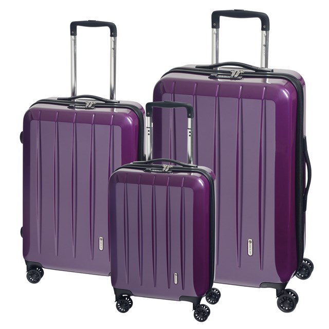 Trolley-Set LONDON 2.0 purple 56-2210676