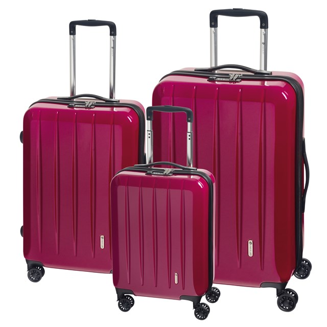 Trolley-Set LONDON 2.0 berry 56-2210677