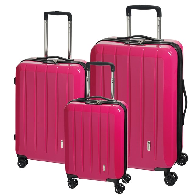 Trolley-Set LONDON 2.0 pink 56-2210678