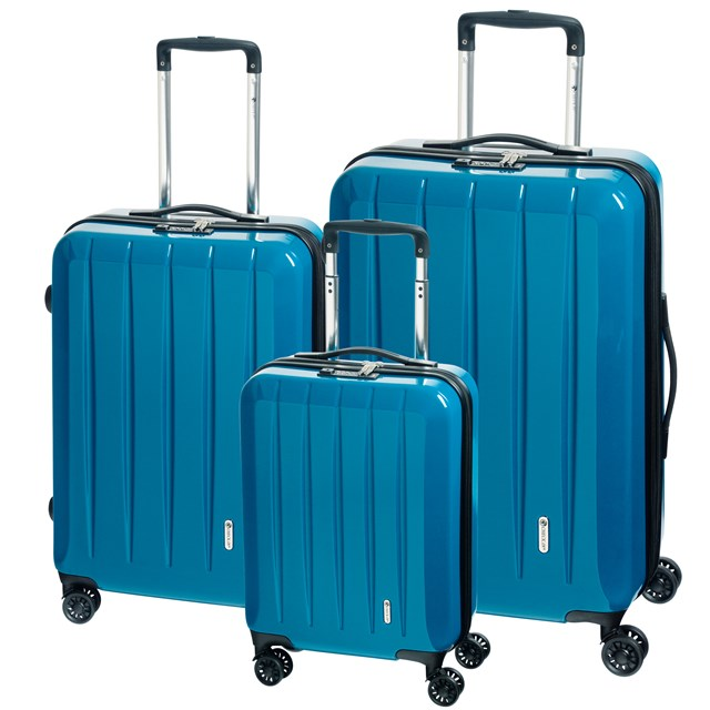 Trolley-Set LONDON 2.0 turquoise 56-2210680