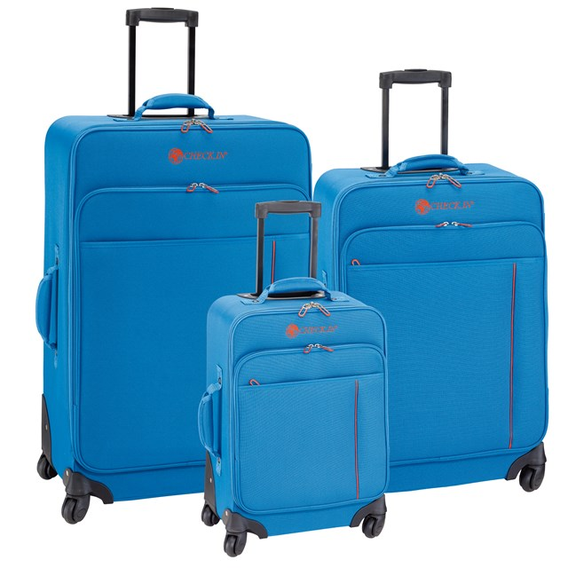 Trolley-Set MADRID blue / orange 56-2210700