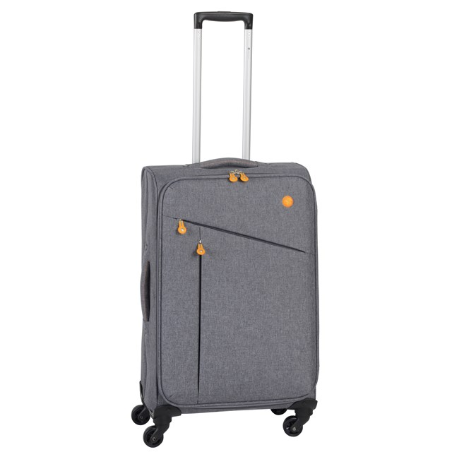 Trolley-Set LISSABON grey / orange 56-2210706