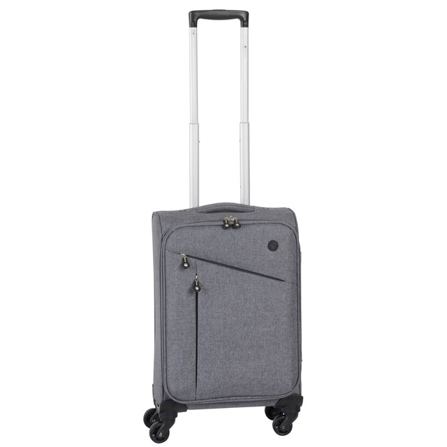 Trolley-Set LISSABON grey / black 56-2210707