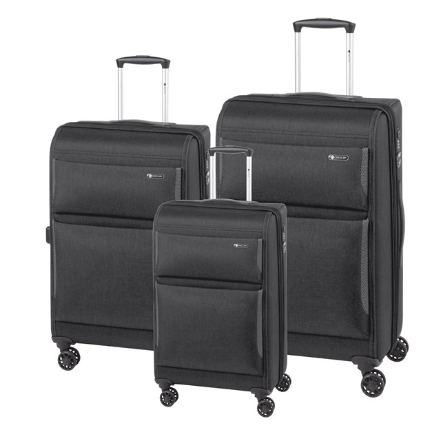 Trolley-Set MÜNCHEN black 56-2210716