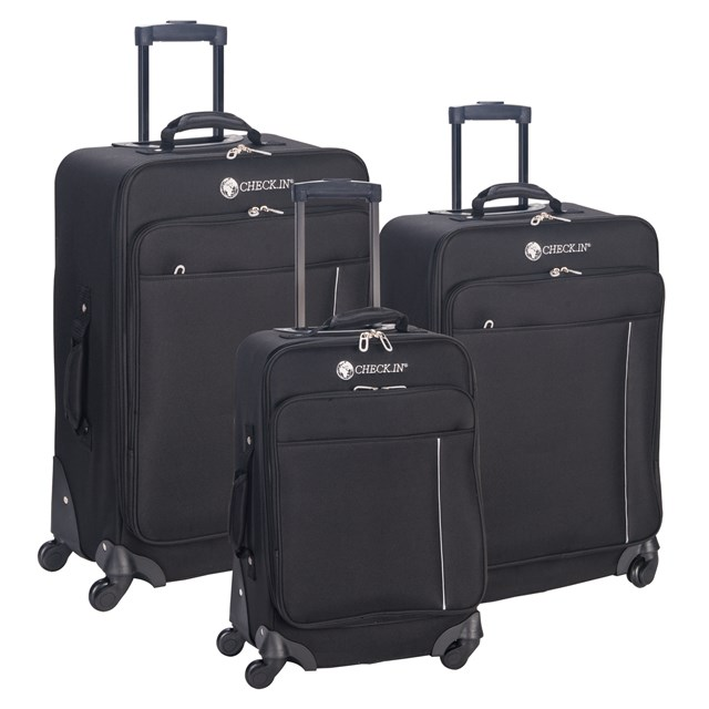 Trolley-Set MADRID black 56-2210723