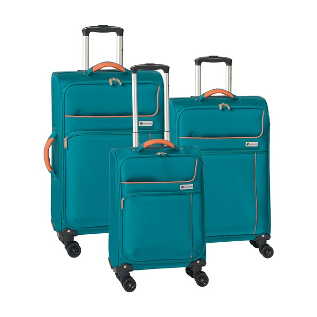 Trolley-Set NEWPORT orange / petrol 56-2210760