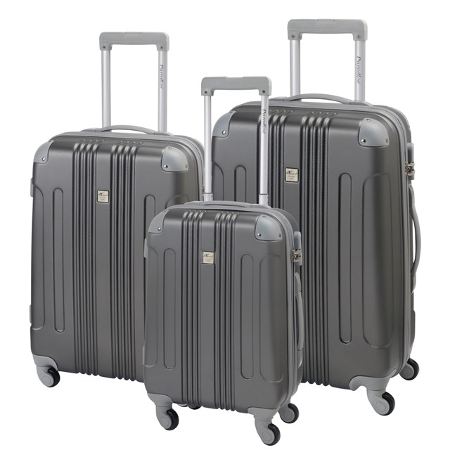 Trolley-Set RIO black / silver 56-2220304