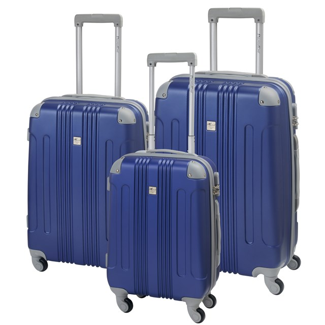 Trolley-Set RIO dark blue / silver 56-2220305