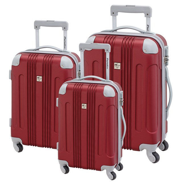 Trolley-Set RIO red / silver 56-2220306