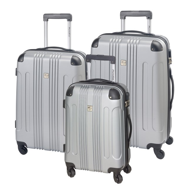Trolley-Set RIO black / silver 56-2220309