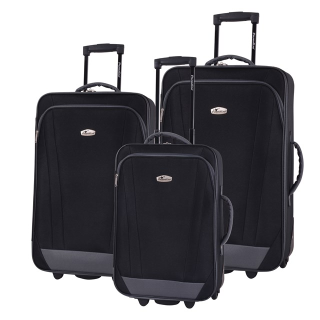 Trolley-Set RIMINI black 56-2220706