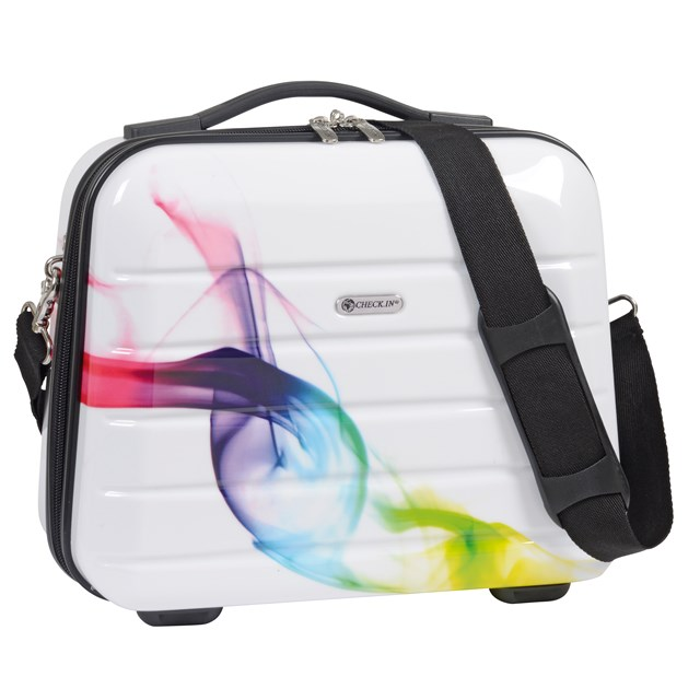 Cosmetic Case LONDON WAVE coloured / white 56-2240524