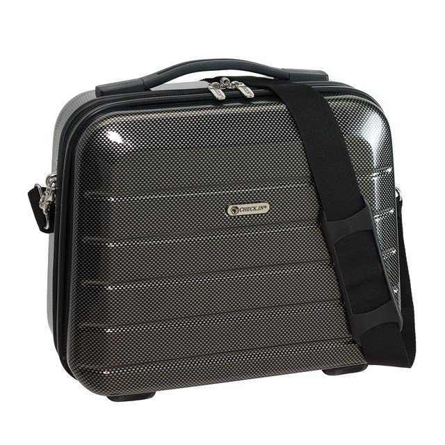 Cosmetic Case LONDON 2.0 carbon black 56-2240570