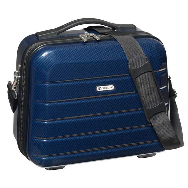 Cosmetic Case LONDON 2.0 carbon blue 56-2240573