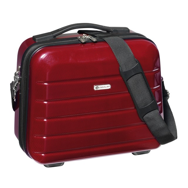 Cosmetic Case LONDON 2.0 carbon red 56-2240574